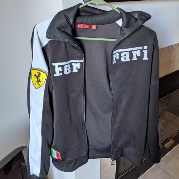 اللانثانم ممل ليدز Puma Ferrari Track Jacket Drivingoz2uk2 Com